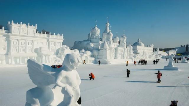 """长春的""""城市冰雪""""受到广州和杭州的欢迎。 第11张"""