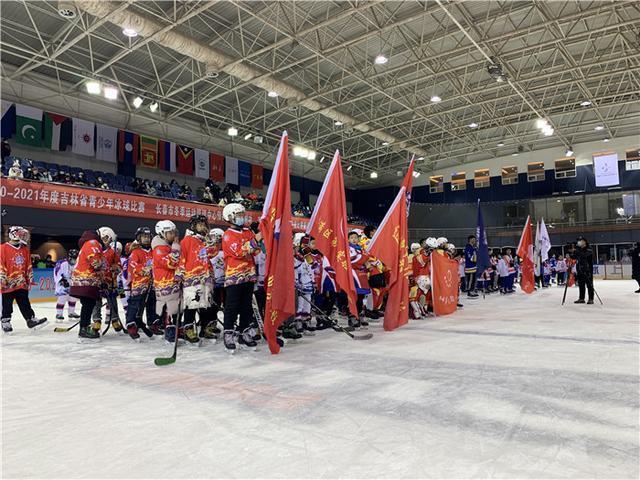 2020-2021吉林省青少年冰球比赛。 第1张