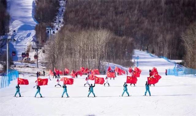 吉林国际高山/单板滑雪挑战赛在长白山开始。 第2张