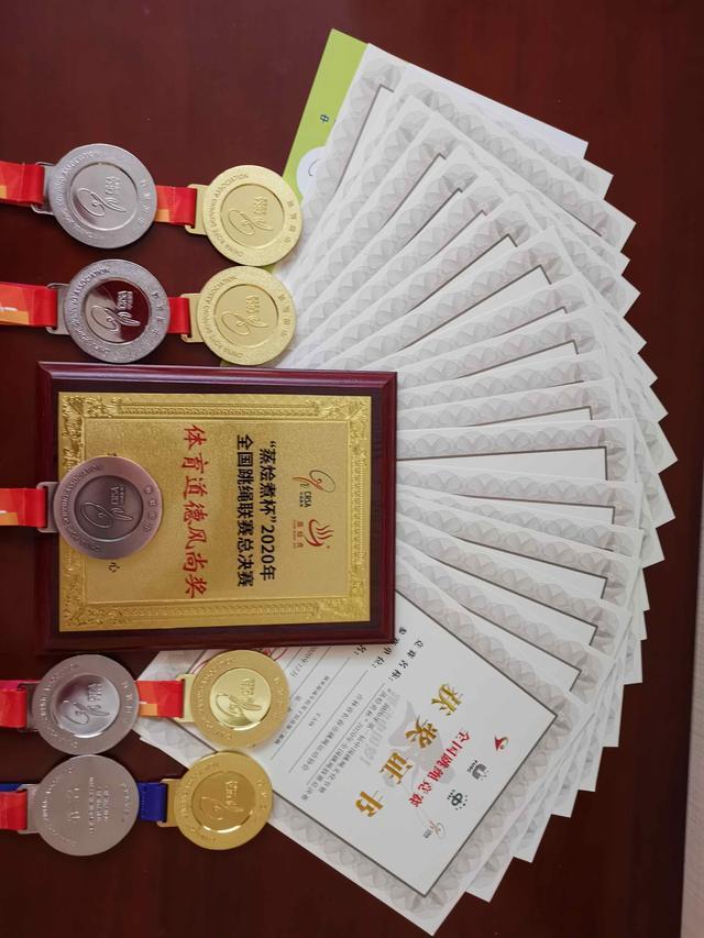2020年全国跳绳联赛决赛结束,长春市代表队获得4金4银1铜。 第2张