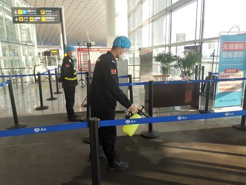 长春机场反应迅速,采取多项措施防控疫情。 第2张