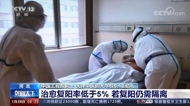 出院病人会传染吗?治愈的病人会从太阳下康复吗?张伯礼回应道。 第1张