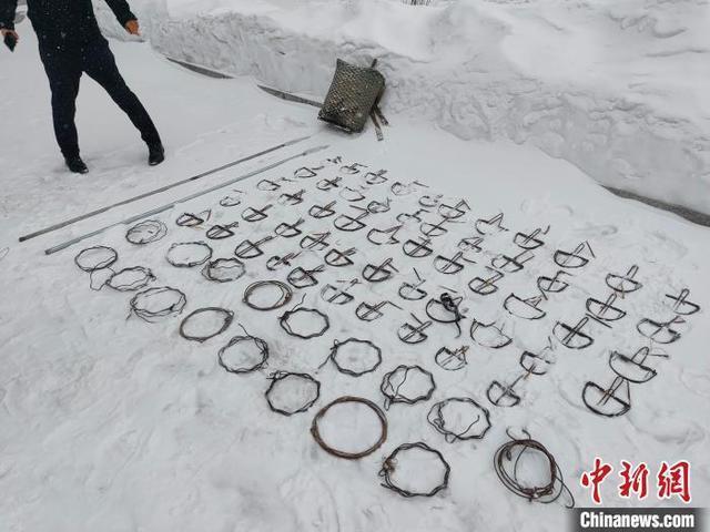 """黑龙江一男子非法狩猎游戏""""年货""""被抓。 第2张"""