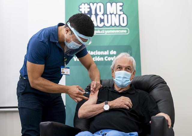 智利总统和卫生部长在中国接种了新冠肺炎疫苗。 第1张
