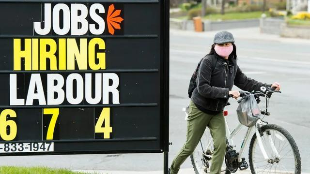 加拿大新增就业岗位25.9万人,失业率一年来最低。 第1张