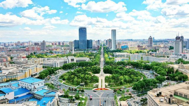 城市绿化惊喜多等春风吹绿。 第3张