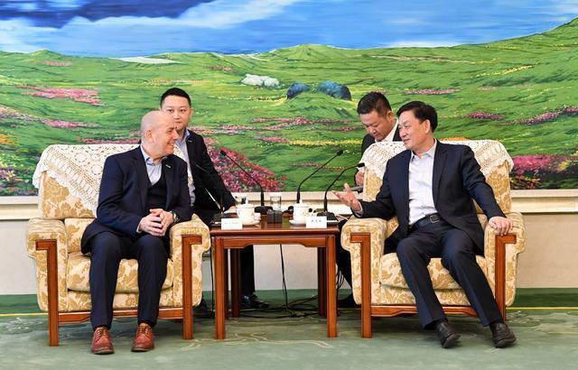 张志军会见海斯坦普亚太区总裁凯文斯图伯斯|抓住双一流建设机遇,深化务实合作,实现双赢。 第2张