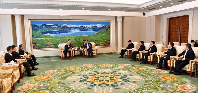 张志军会见海斯坦普亚太区总裁凯文斯图伯斯|抓住双一流建设机遇,深化务实合作,实现双赢。