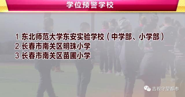 长春市九城区相继发布预警,涉及40多所学校。 第4张